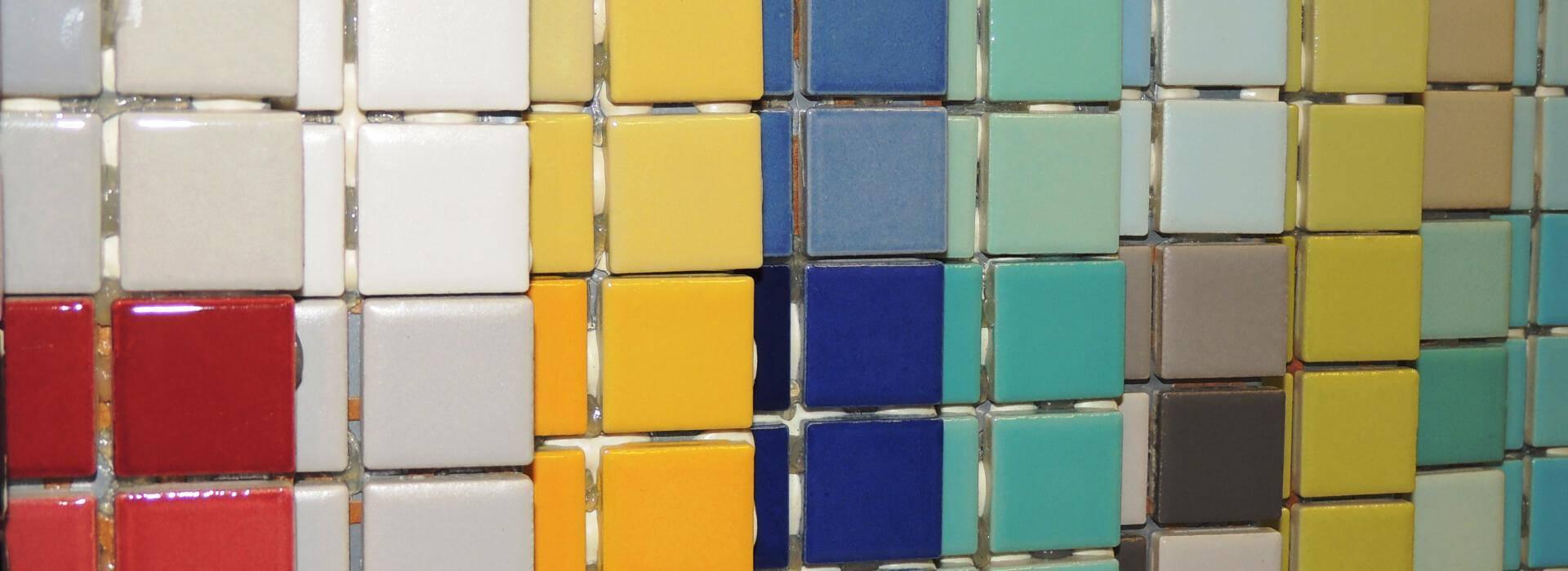 Mosaico in porcellanato di Andreani Srl