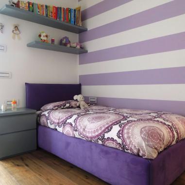 camera da letto parquet