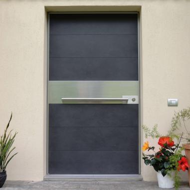 porta da ingresso moderna